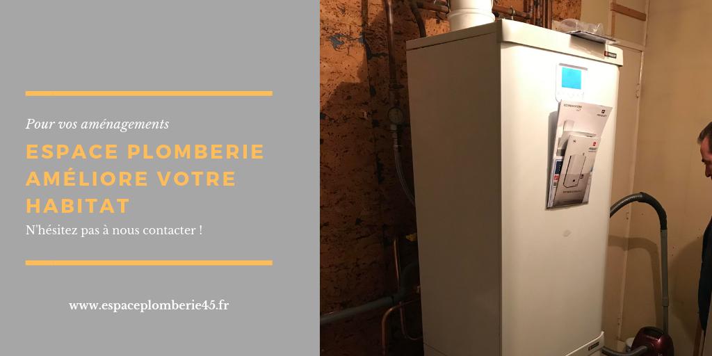 AVANT / APRES : Chaudière à condensation – fourniture et pose
