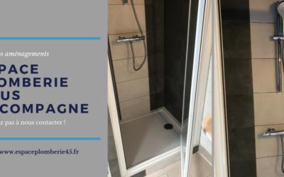 AVANT / APRES : Remplacement d'une douche